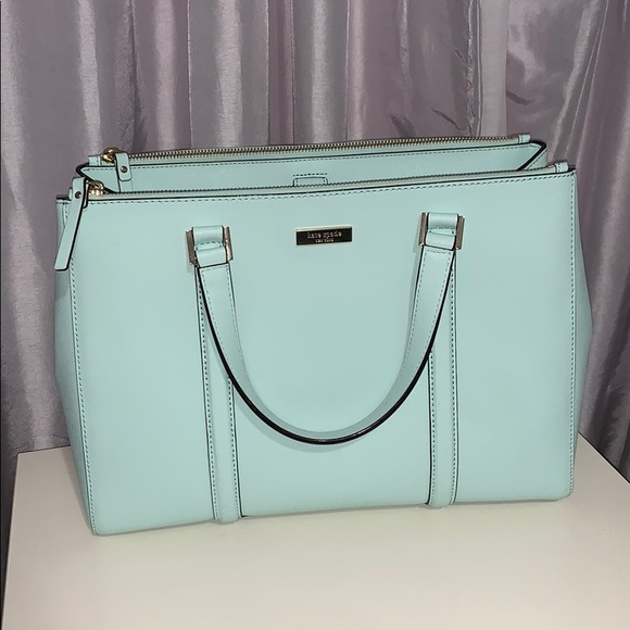Kate Spade Mint Tote Double Handle
